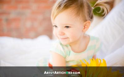 Emme 2nd Birthday Photos @ Artsy Artichoke Haverhill Studio